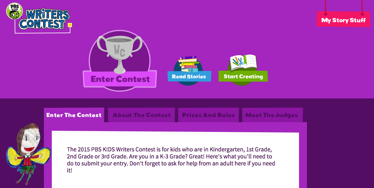 PBS Kids Creative Writing Contest