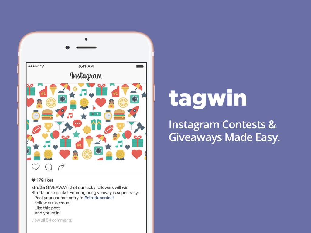 Introducing Tagwin - Contests and Giveaways on Instagram