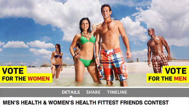 Men's Health + Facebook Contest
